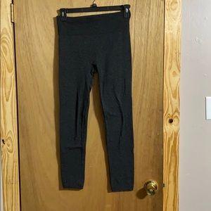 Dark grey fleece lined leggings